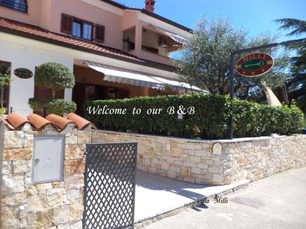 Camere villa milli rovigno croazia for Croazia camere